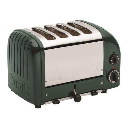 Dualit 4 Slice Toaster - Polished Evergreen