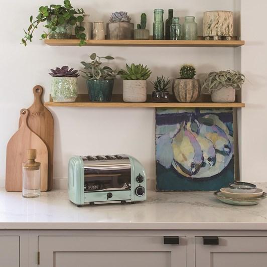 Dualit 4 Slice Toaster - Polished Eucalyptus
