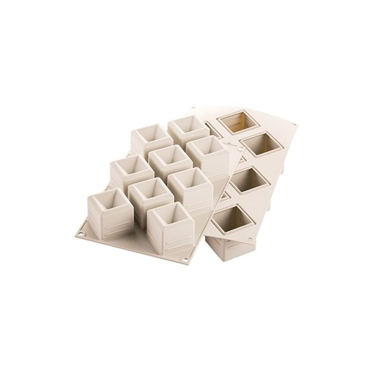 Silikomart 3D Mosaico Silicone Mould 50x50x50mm