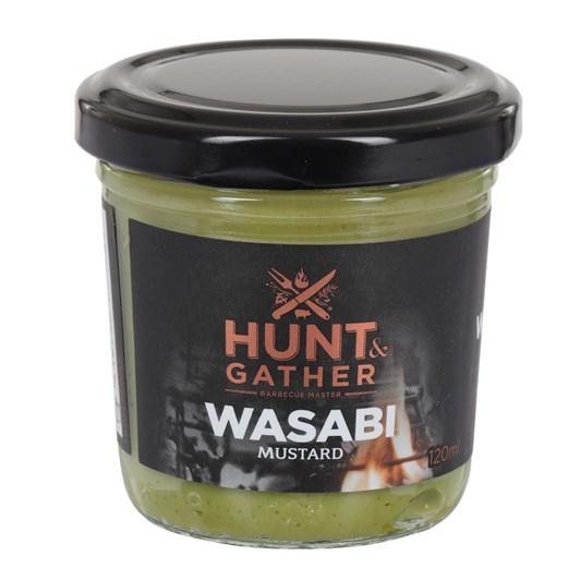 Hunt & Gather Wasabi Mustard 120ml