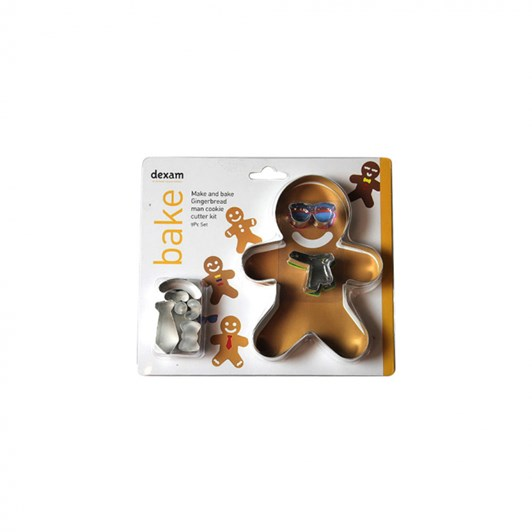 Make & Bake Gingerbread Man Cookie Cutter