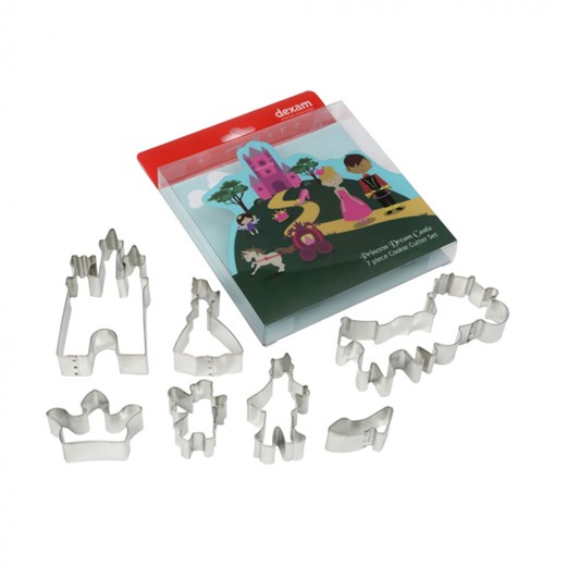 Dexam Princess Dream Castle Cutters Set Of 7
