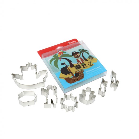 Dexam Treasure Island Cutters Set Of 7