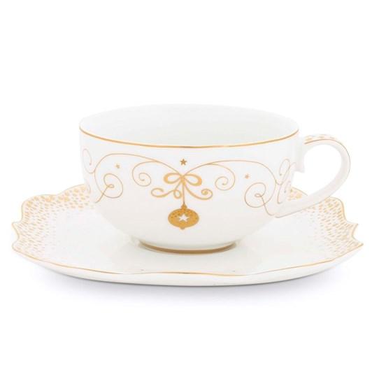 Pip Studio Cup And Saucer Royal Christmas 225ml