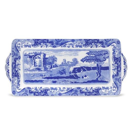 Spode Blue Italian Sandwich Tray 33cm