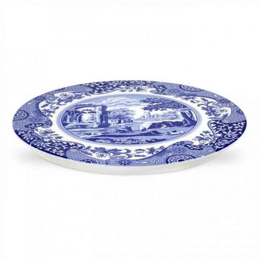 Spode Blue Italian Cake Serving Plate 28.5cm
