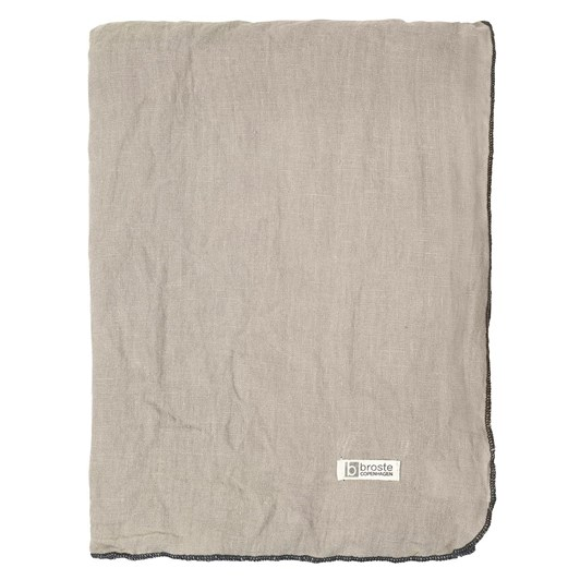 Broste Tablecloth Gracie Taupe 160x200