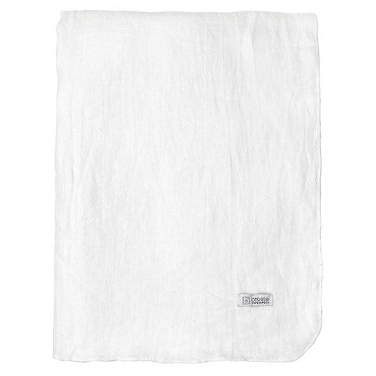 Broste Tablecloth Pure White 160x200