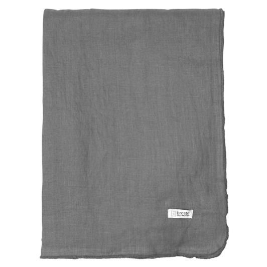 Broste Tablecloth Grey 160x200