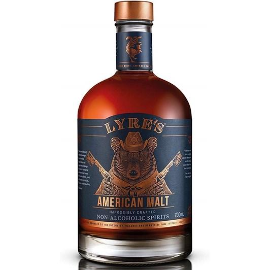 Lyre's American Malt Non Alcoholic Spirit 700ml