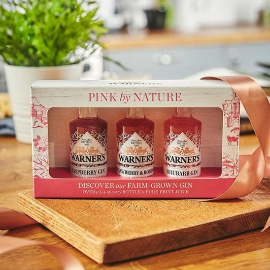 Warner's Pink By Nature 3 x 50ml Giftpack