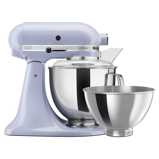 KitchenAid KSM160 Stand Mixer with Extra 2.8L Bowl - Lavender Cream