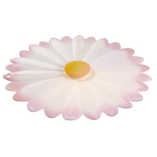 Charles Viancin White/Pink Daisy Lid 23cm