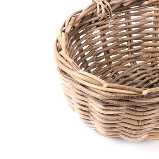 Trade Aid Oval Rattan Basket