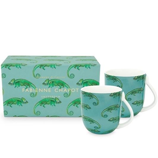 Fabienne Chapot Large Chameleon Mugs Set Of 2 400ml