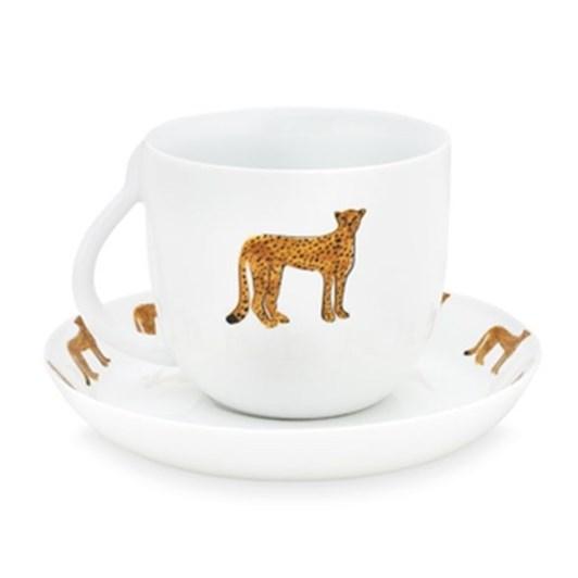 Fabienne Chapot Cheetah Cup & Saucer 280ml
