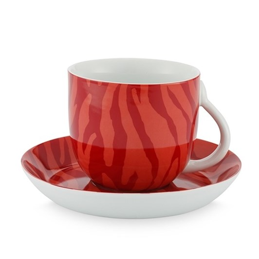 Fabienne Chapot Zebra Stripes Cup & Saucer 280ml