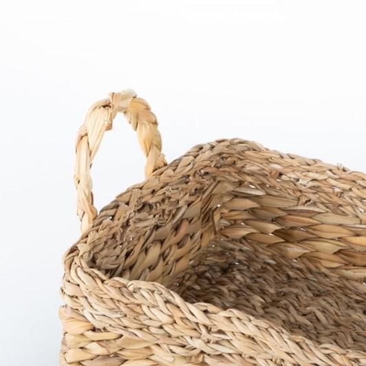 Trade Aid Hogla Rope & Leaf Tray