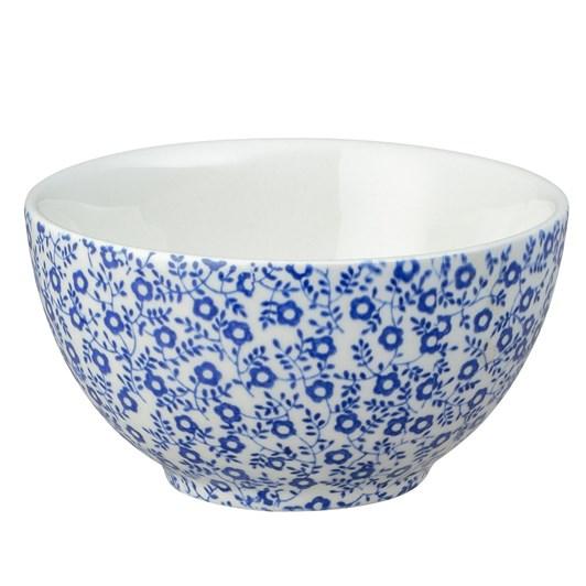 Burleigh Dark Blue Felicity Sugar Bowl 9.5cm