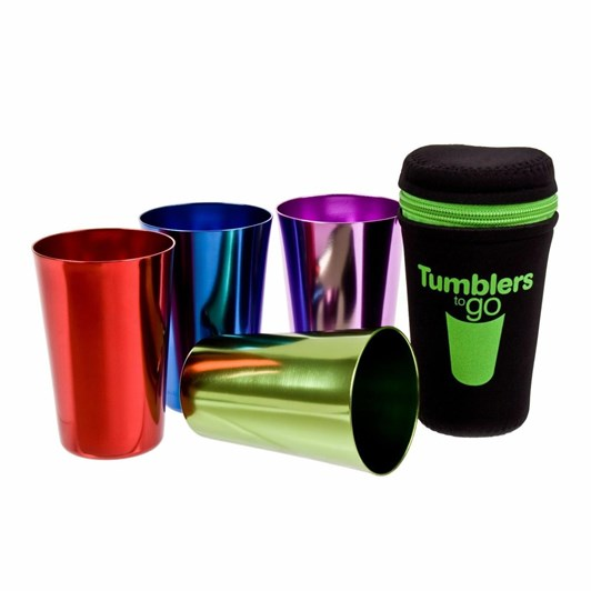 Dline Tumblers To Go Set Of 4