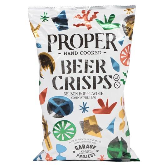 Proper Beer Crisps 150g