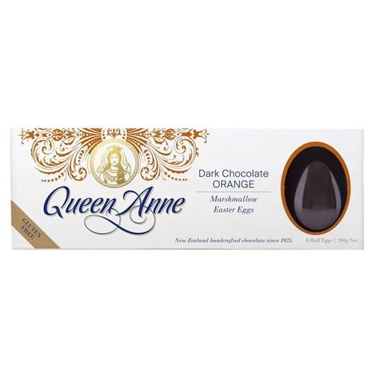 Queen Anne Orange Dark Chocolate Egg 200g