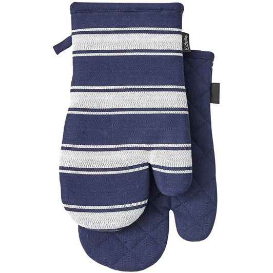Ladelle Butcher Stripe Series II Oven Mitt Pack Of 2