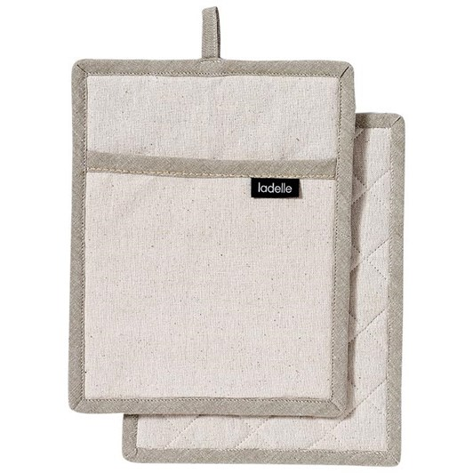 Ladelle Eco Recycled Pot Holder Pack Of 2