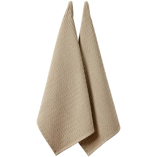 Ladelle Eco Recycled Kitchen Towel Pack Of 2