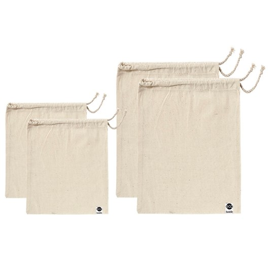 Ladelle Eco Recycled Calico Produce Bag Set Of 2