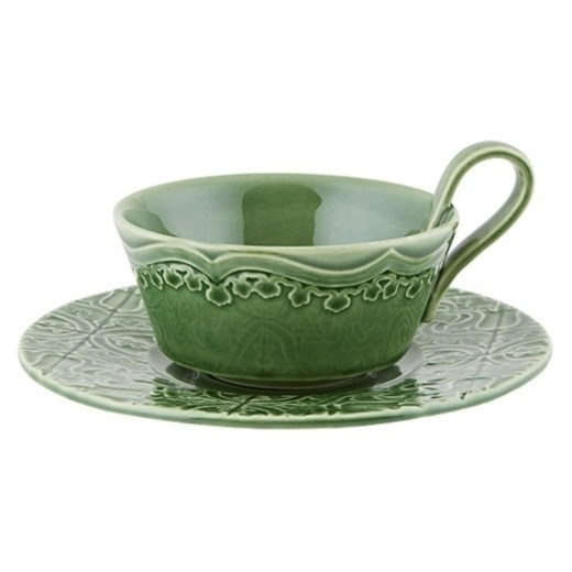 Bordallo Rua Nova Tea Cup & Saucer