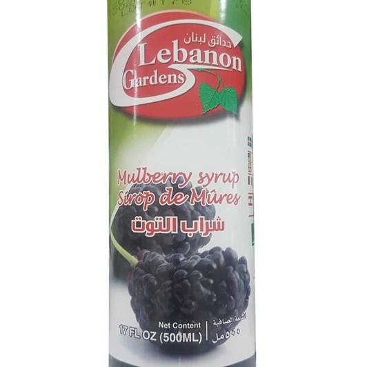 Lebanon Gardens Mulberry Syrup 500ml