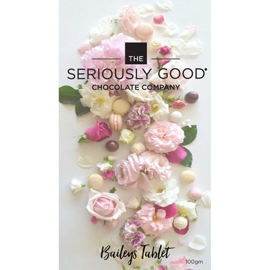 Seriously Good Chocolate Floral Baileys Tablet