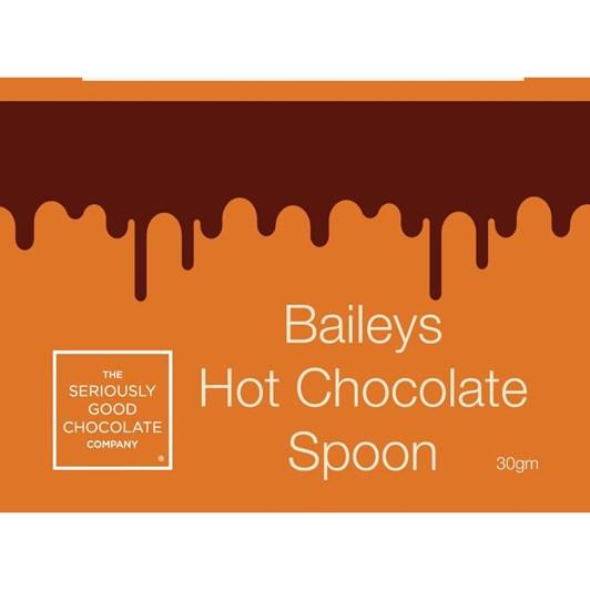 Seriously Good Chocolate Baileys Chocolate Spoon