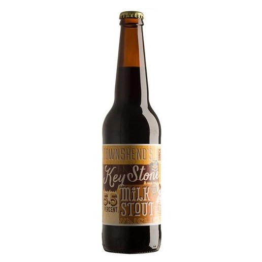 Keystone Milk Stout (5.1%) 500ml