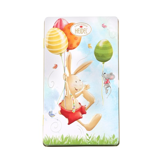 Heidel Easter Greetings Tin Box Containing 9 Milk Chocolate Bars 90g