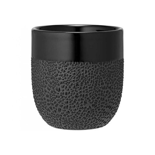Ladelle Cafe Textured Black Tumbler