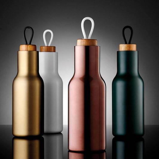 Ladelle Tempa Metallic Rose Drink Bottle