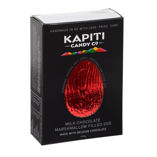 Kapiti Candy Co Milk Chocolate Easter Egg 120g