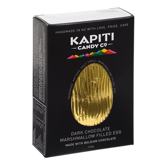 Kapiti Candy Co Dark Chocolate Easter Egg 120g