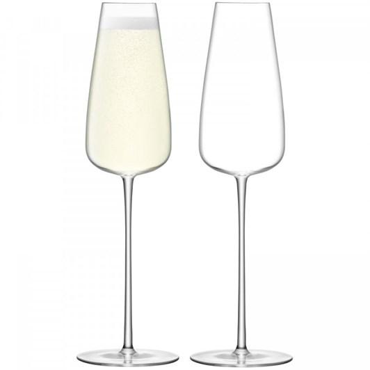 LSA Wine Culture Champagne Flute x 2 320ml