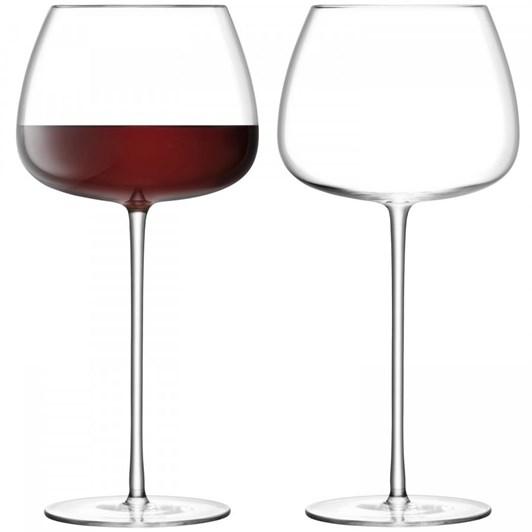 LSA Wine Culture Red Wine Ballon Glass x 2 590ml