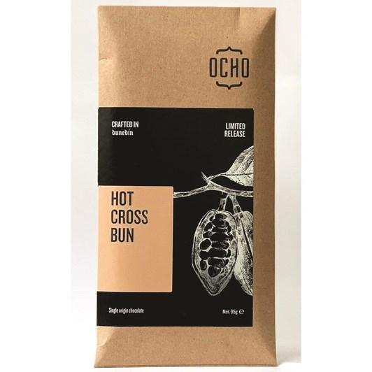 Ocho Hot Cross Bun Bar 95g