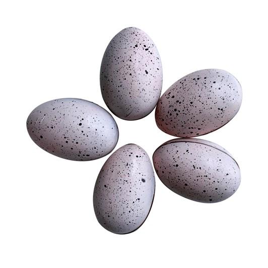 Honest Chocolat 5 Pukeko Raspberry Marshmallow Milk Chocolate Eggs 80g
