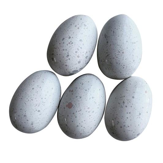 Honest Chocolat 5 Dotterel Salted Caramel Dark Chocolate Eggs 100g