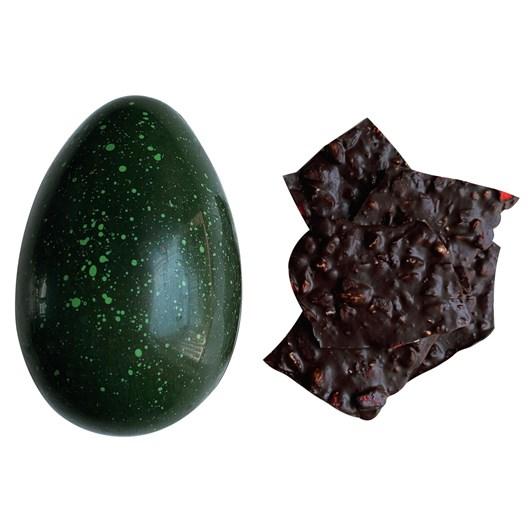 Honest Chocolat Kea Dark Chocolate Large Egg With Strawberry And Almond 200