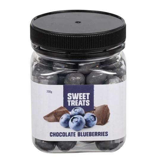 Sweet Treats Chocolate Blueberries 200g