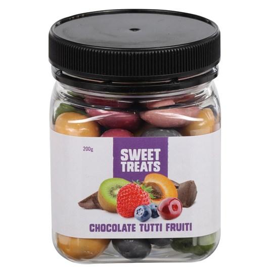 Sweet Treats Chocolate Tutti Fruiti 200g