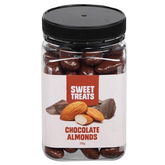 Sweet Treats Chocolate Almonds 250g