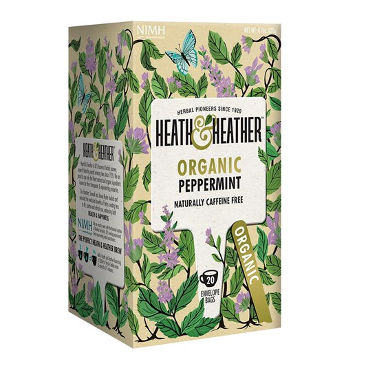 Heath & Heather Peppermint Tea 20 bags